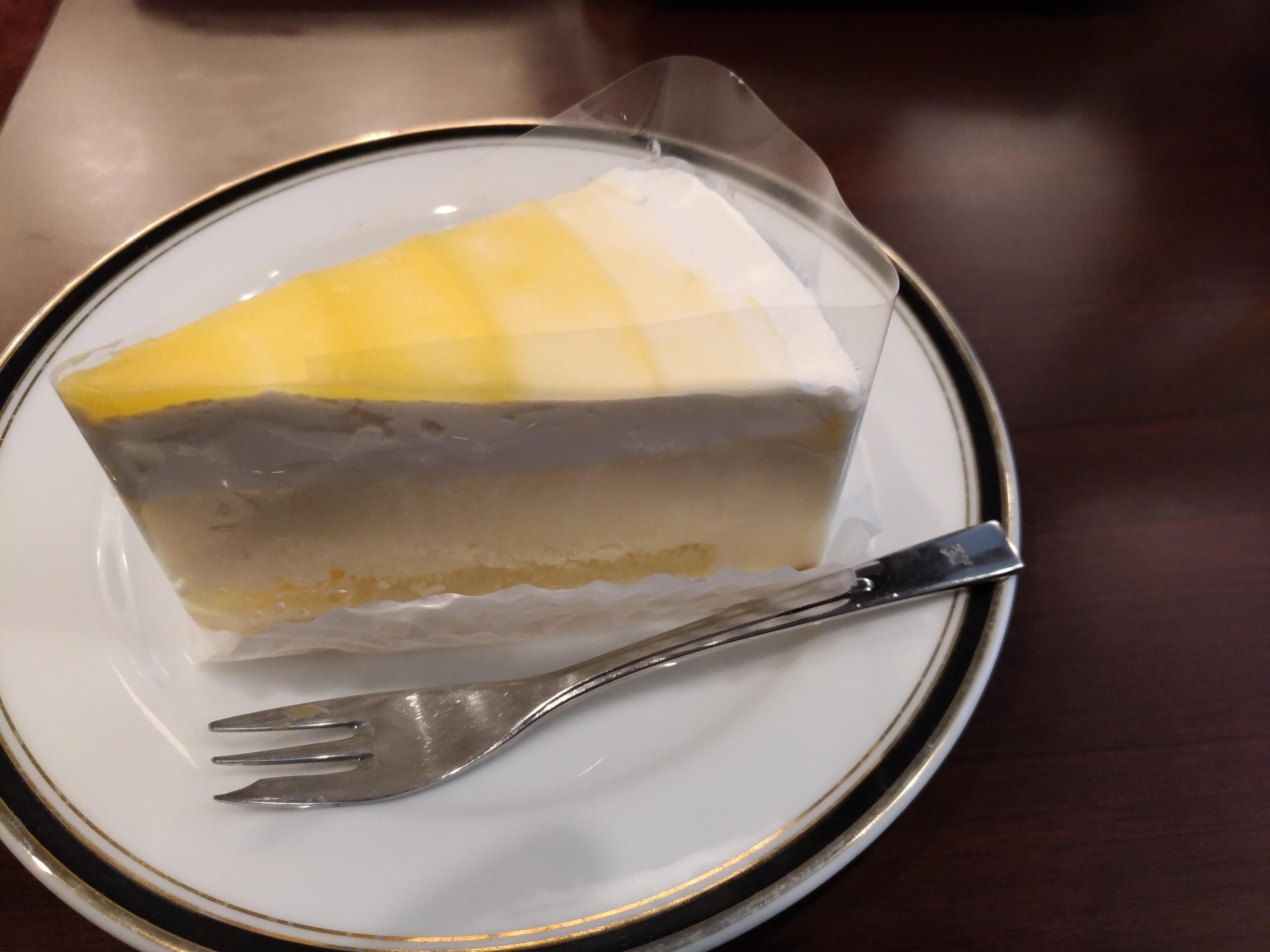 北海道クリームチーズのハニーヨーグルトレア(ルノアール)