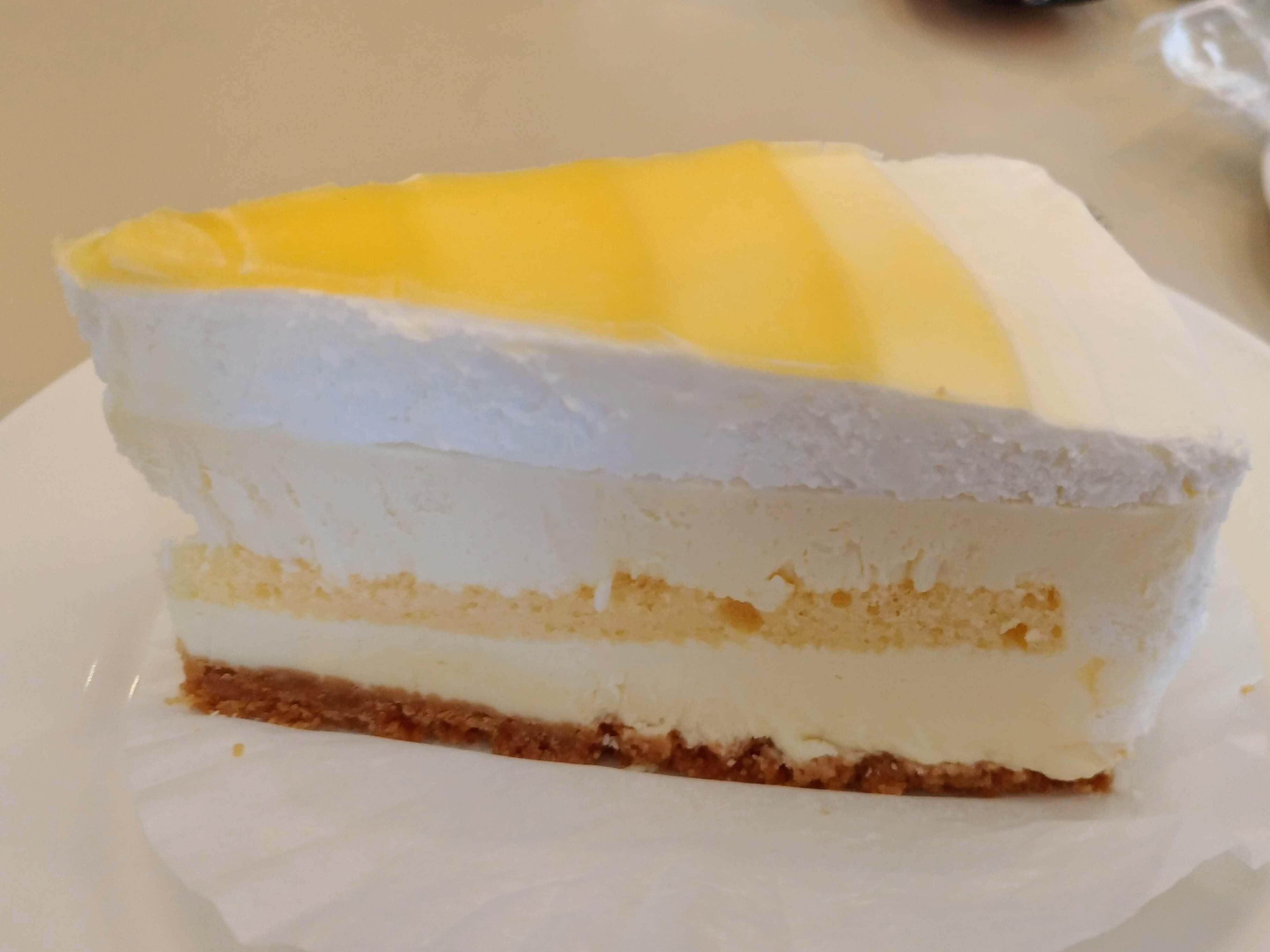 【ルノアール】北海道クリームチーズのハニーヨーグルトレア (4)