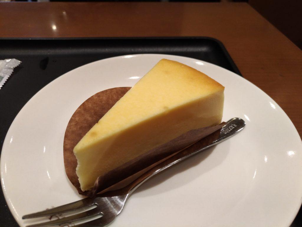 タリーズコーヒーのベイクドチーズケーキ (7)