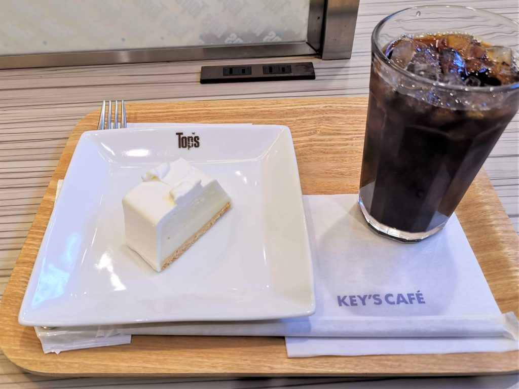 トップス 生チーズケーキ(keys cafe武蔵小杉店)