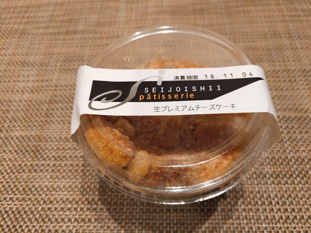 生プレミアムチーズケーキ 成城石井 (2)