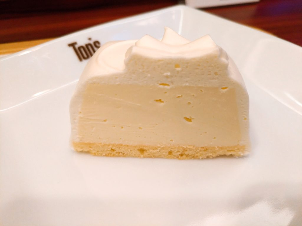 【Top's(トップス)/ KEY'S CAFE】 レアチーズケーキ