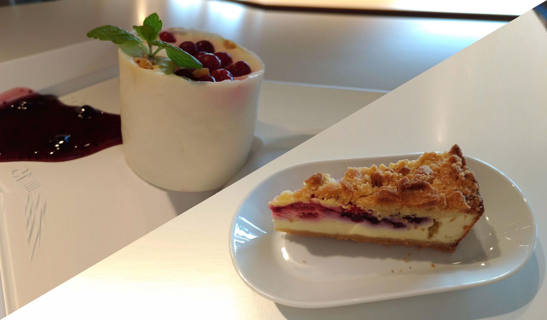 【IKEA(イケア)レストラン】ベリーベリーチーズケーキとクアークチーズムースのベリーソース添えについて