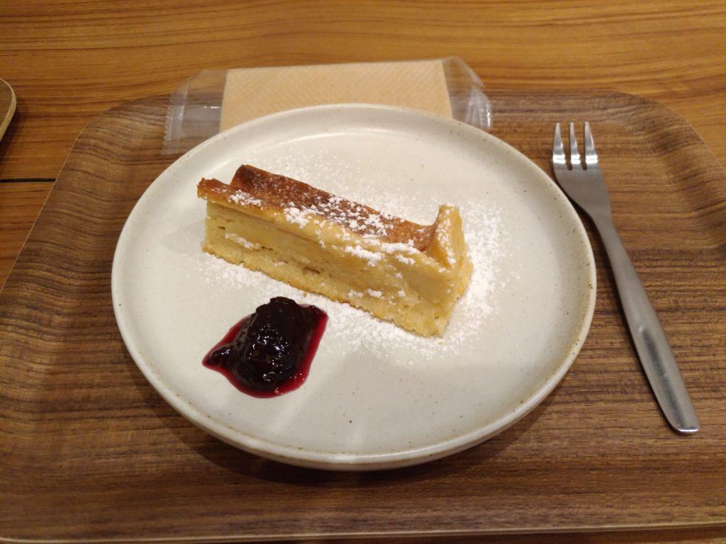 米粉のチーズケーキ RiceGrain CAFE 鵜の木 (6)