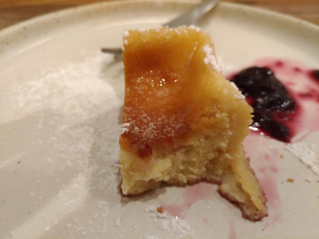 米粉のチーズケーキ RiceGrain CAFE 鵜の木 (2)