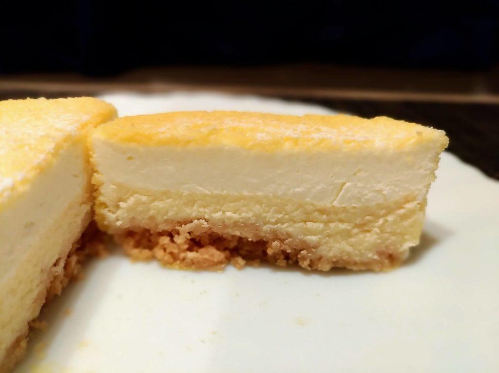 【無印良品】2層仕立てのチーズケーキ (12)