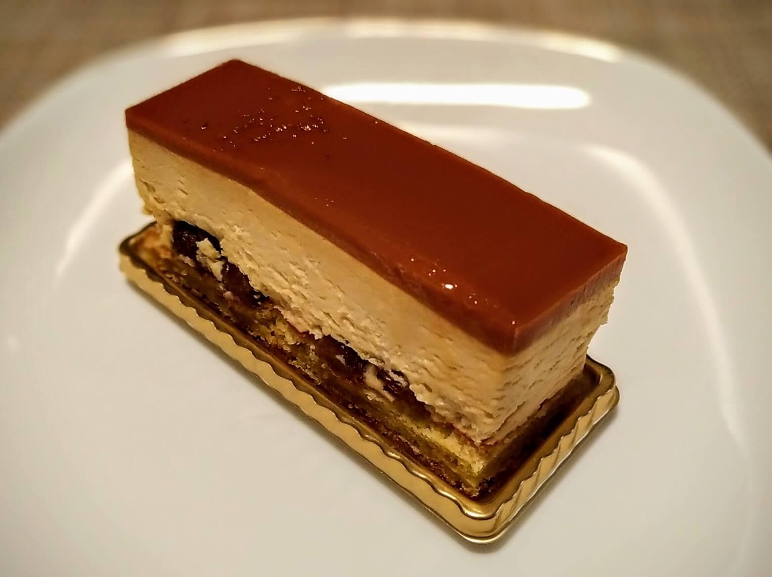 メゾンカイザー キャラメルラムレーズンチーズケーキ (2)