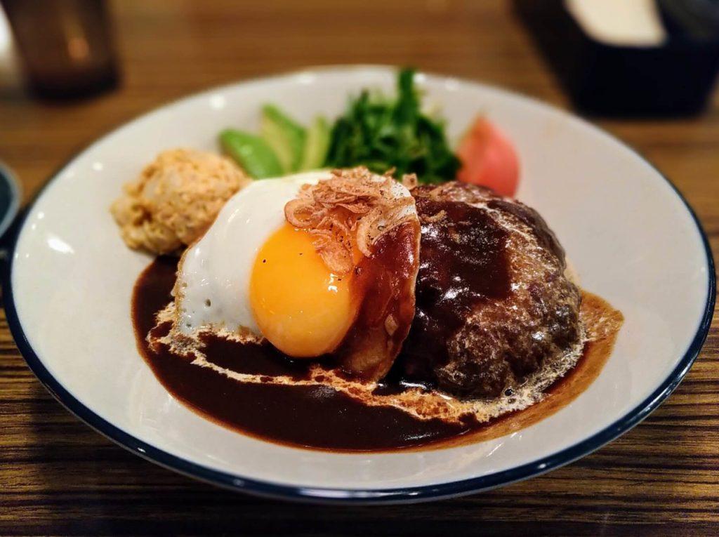 ワイアードカフェ ロコモコ丼