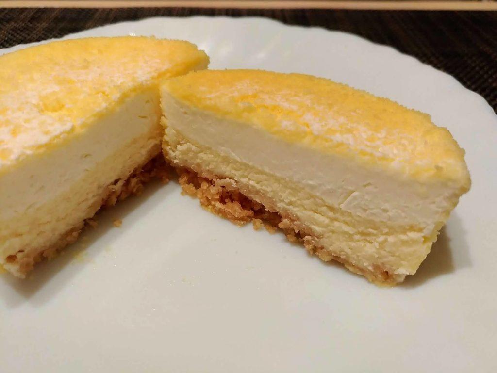 【無印良品】2層仕立てのチーズケーキ (10)