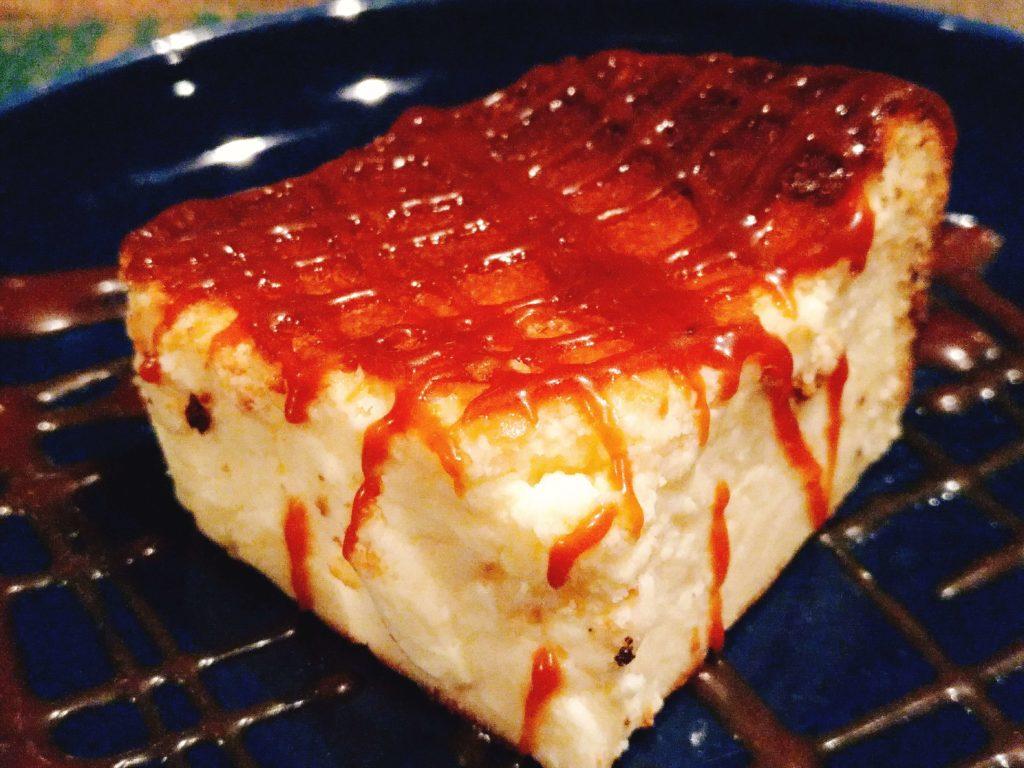 suzu cafe(渋谷) 焦がしキャラメルの濃厚チーズケーキ (4)