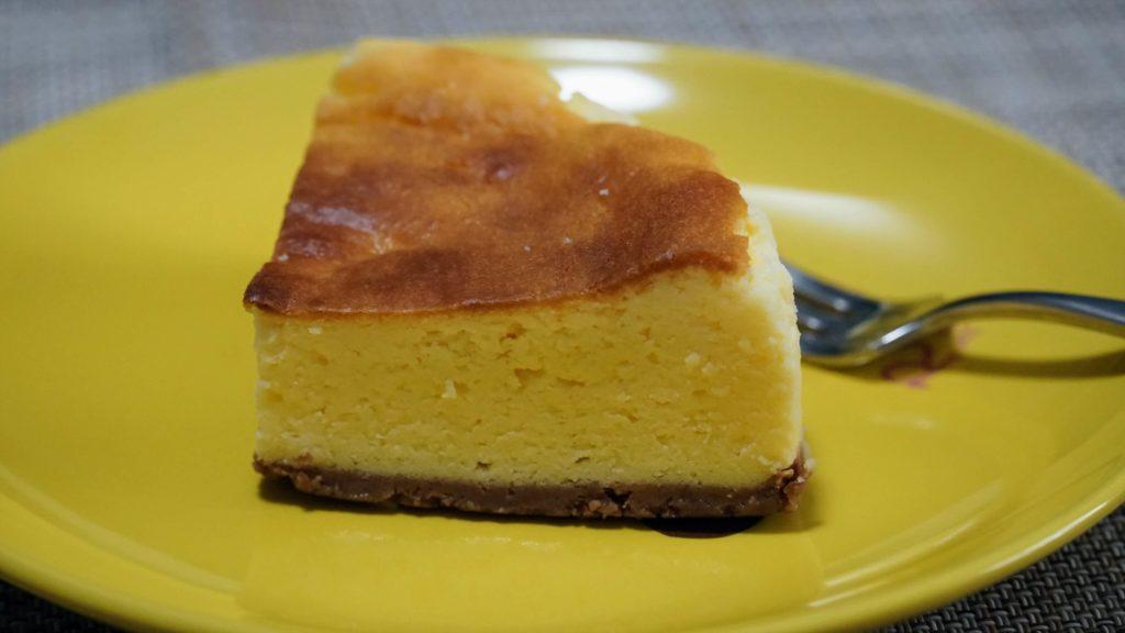 下高井戸 オーブン菓子専門店チェシャ ニューヨークチーズケーキ (2)_R