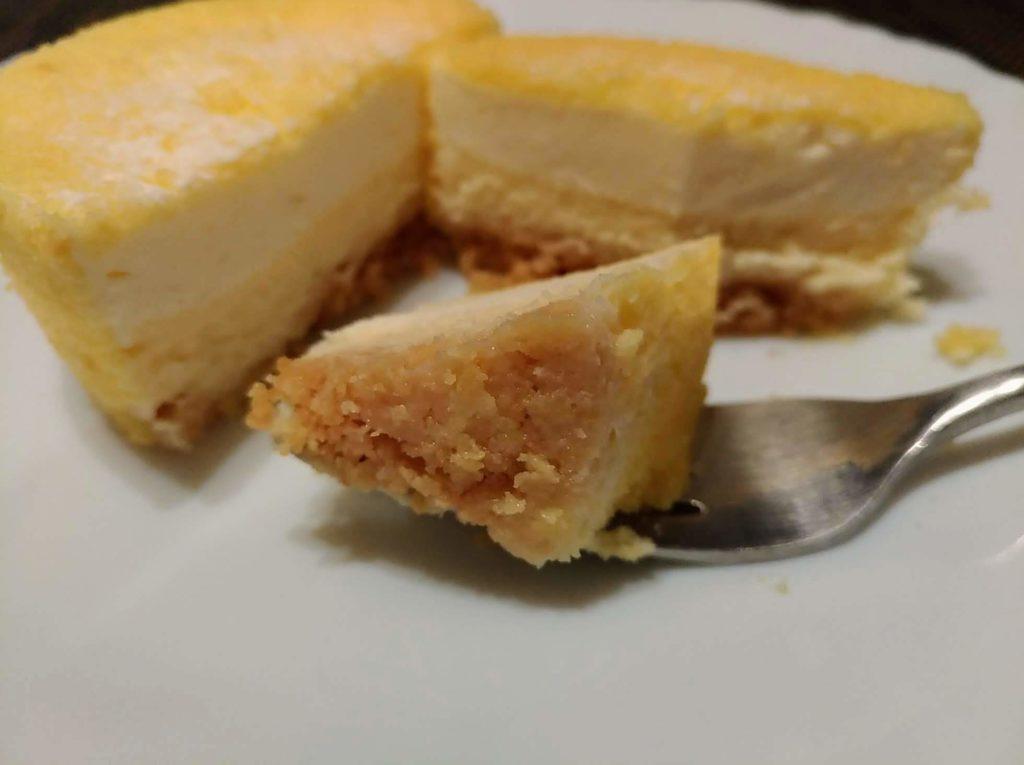 【無印良品】2層仕立てのチーズケーキ (13)