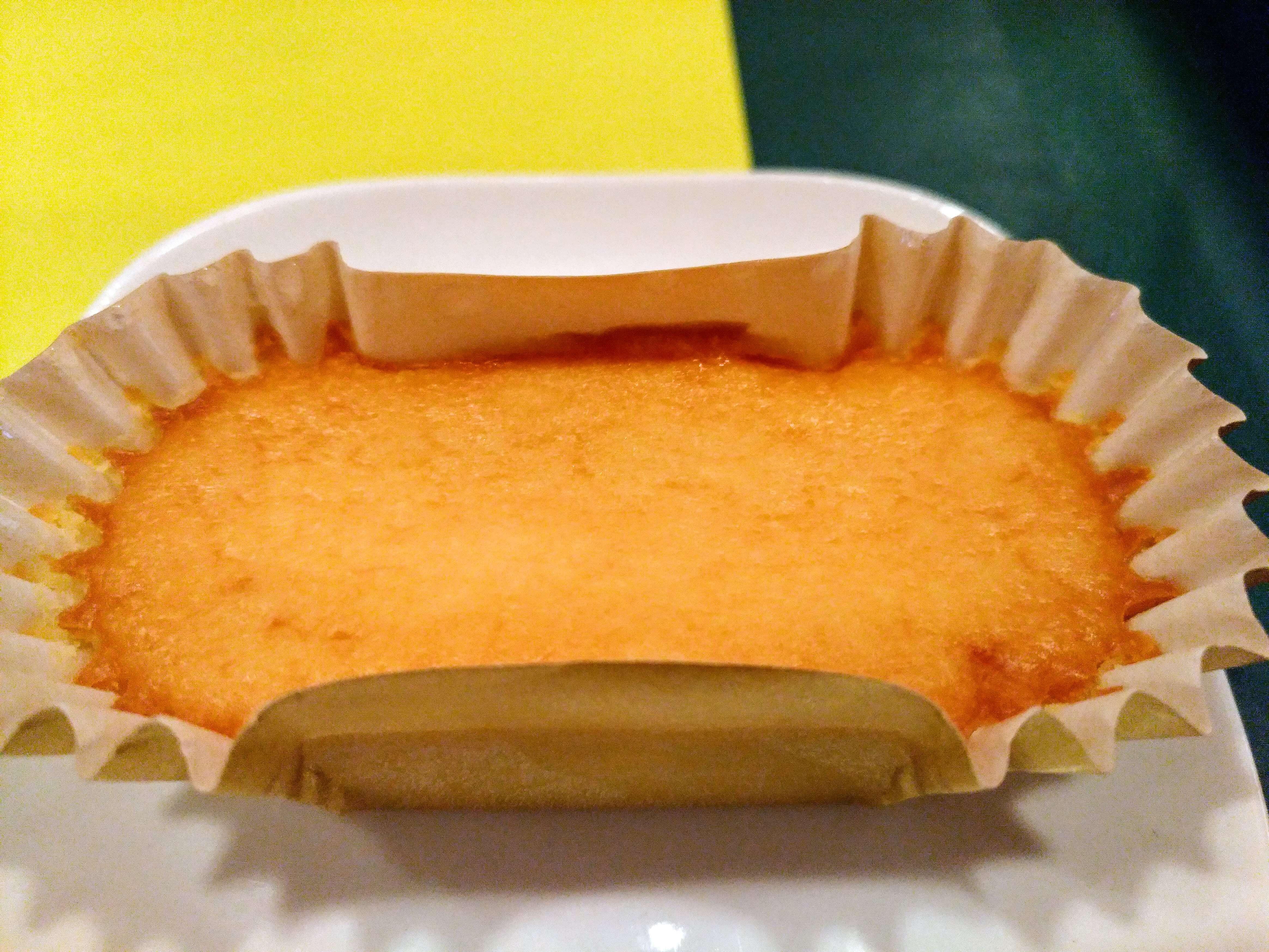 【モスバーガー】ひんやりドルチェ・ベイクドチーズケーキ (2)