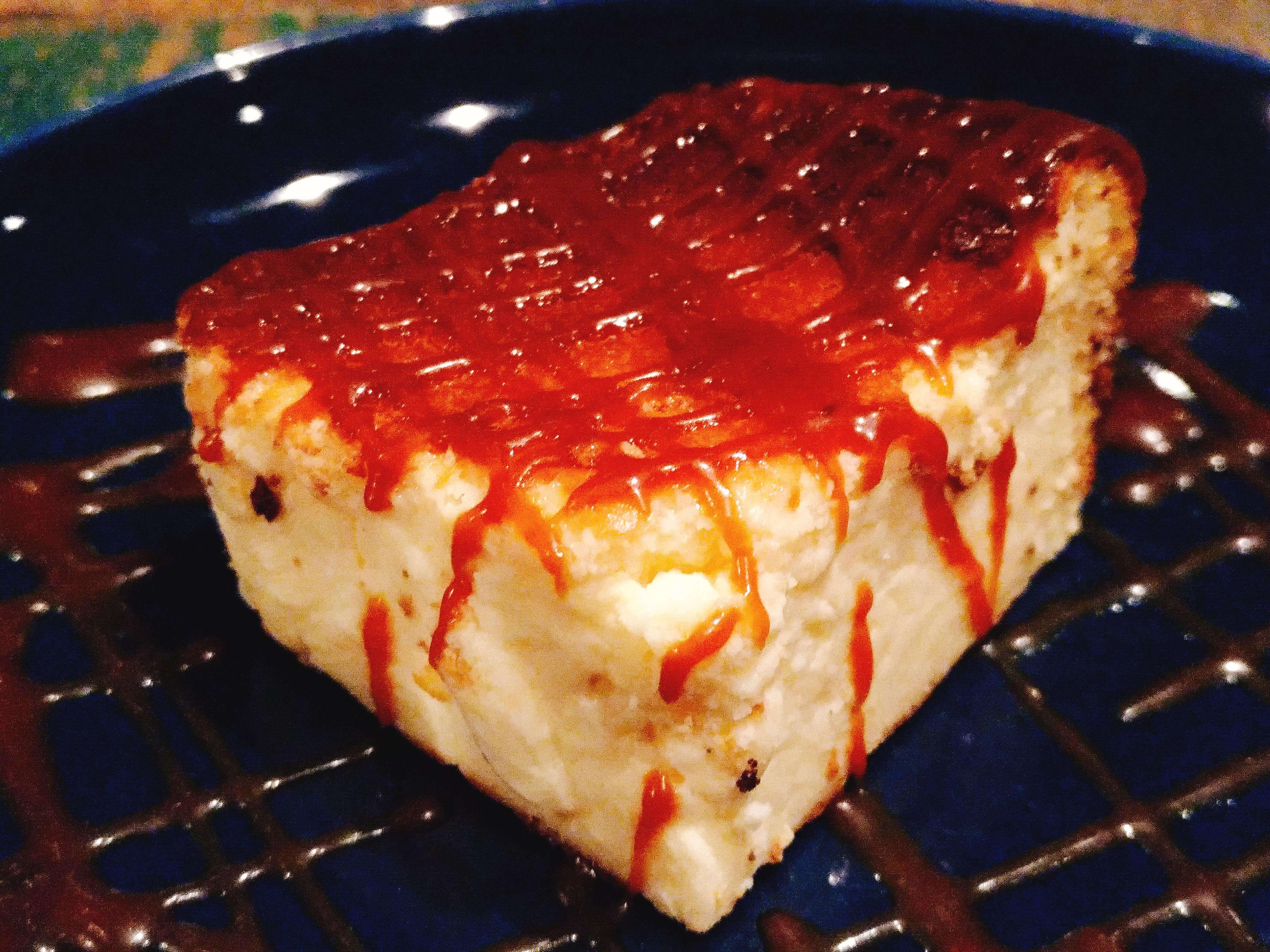 suzu cafe(渋谷) 焦がしキャラメルの濃厚チーズケーキ (3)
