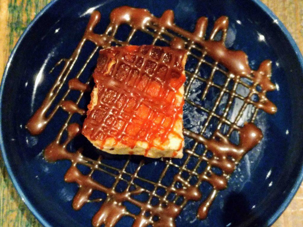 suzu cafe(渋谷) 焦がしキャラメルの濃厚チーズケーキ (2)