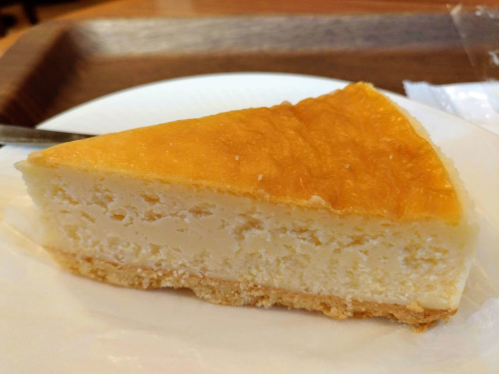 モリバコーヒー 濃厚ベイクドチーズケーキ 写真 (7)