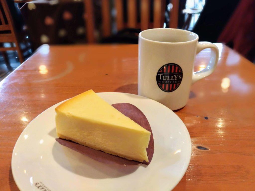 タリーズコーヒー ベイクドチーズケーキ (11)