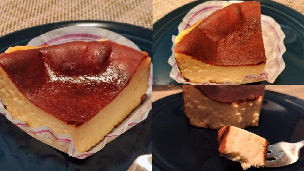パティスリー タツヤササキ バスクチーズケーキ画像