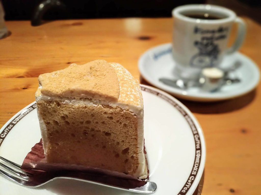 コメダ珈琲 きな粉と豆乳クリームのシフォン (1)