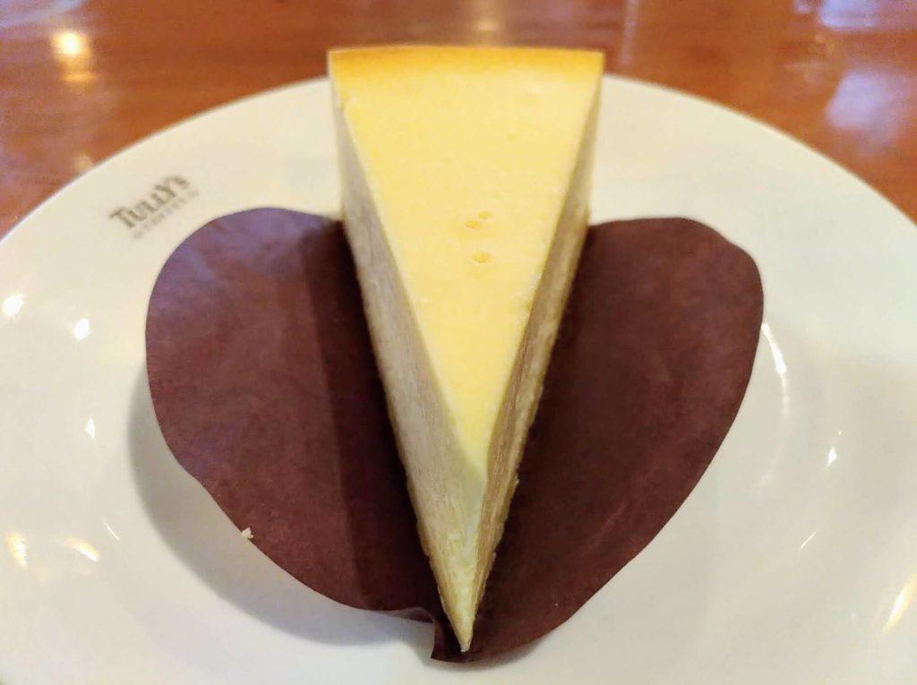 タリーズコーヒー ベイクドチーズケーキ (5)