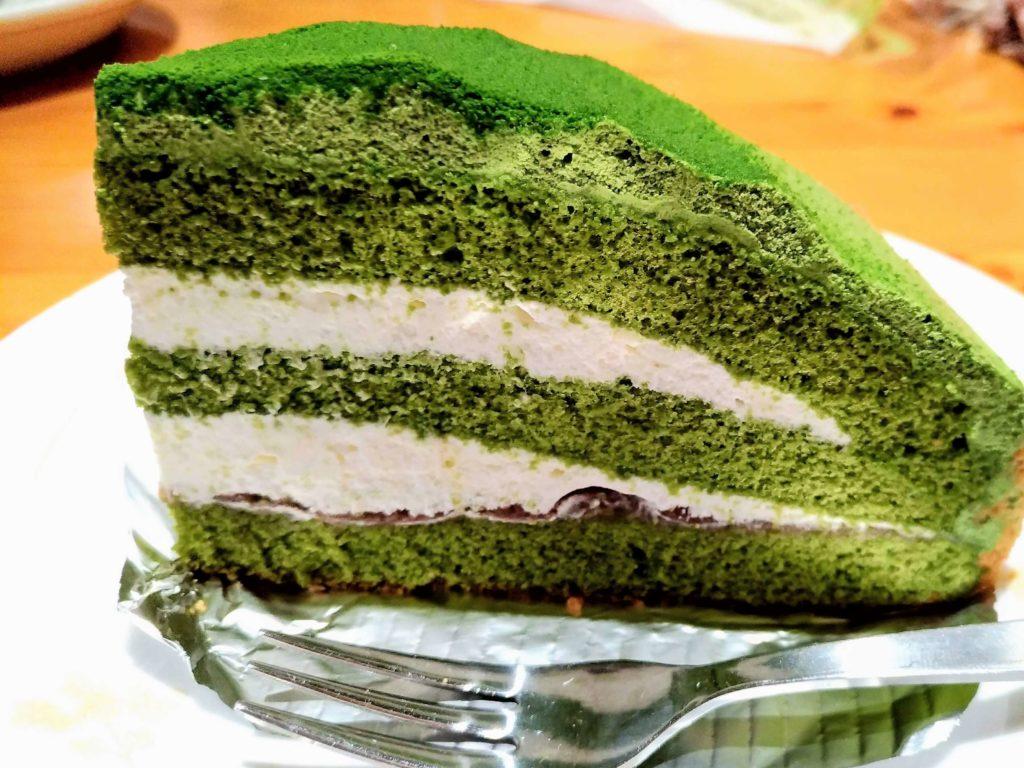 コメダ珈琲 抹茶とクリームチーズのケーキ (7)