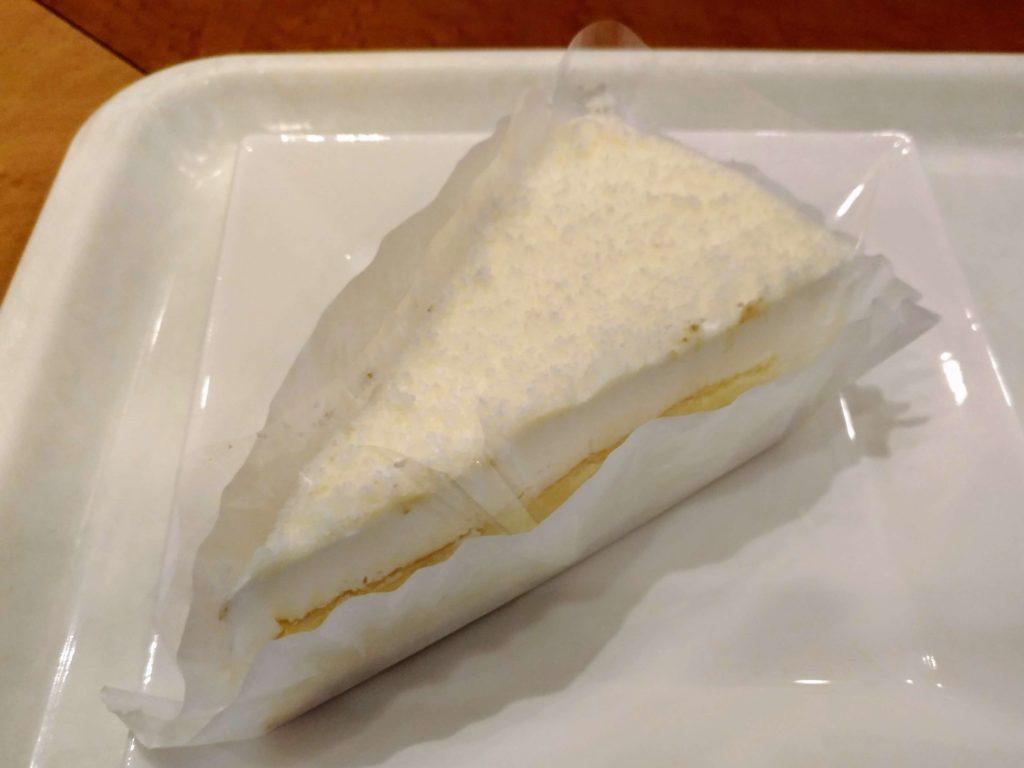 【新橋珈琲店】北海道2層のチーズケーキ (2)
