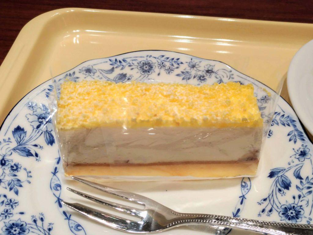 ドトール 2層のチーズケーキ 写真 (1)