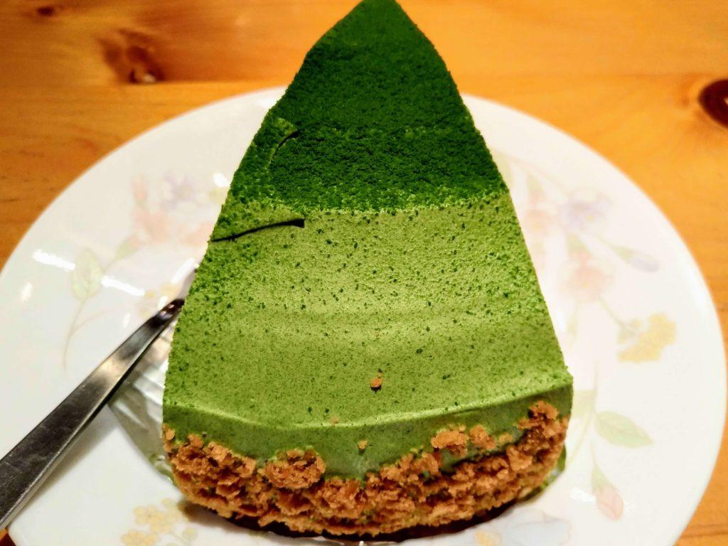 コメダ珈琲 抹茶とクリームチーズのケーキ (1)