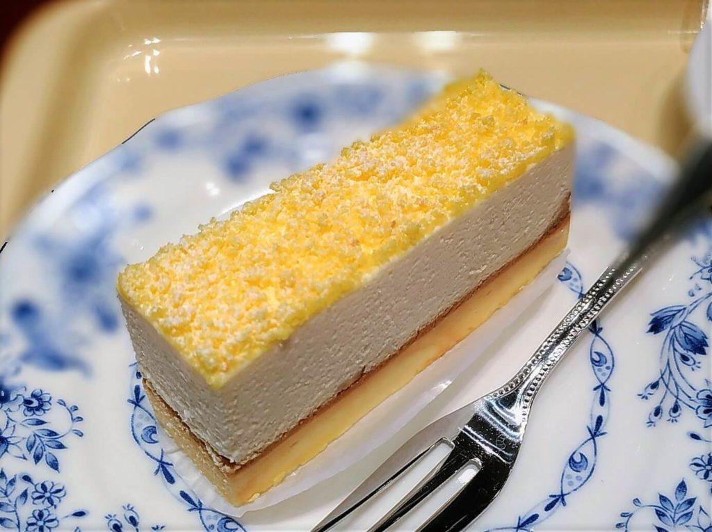 ドトール 2層のチーズケーキ 写真 (2)