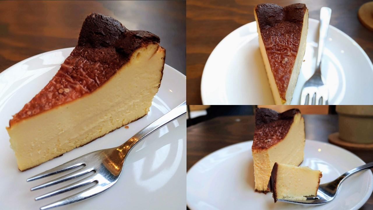 オクサワファクトリー バスクチーズケーキ
