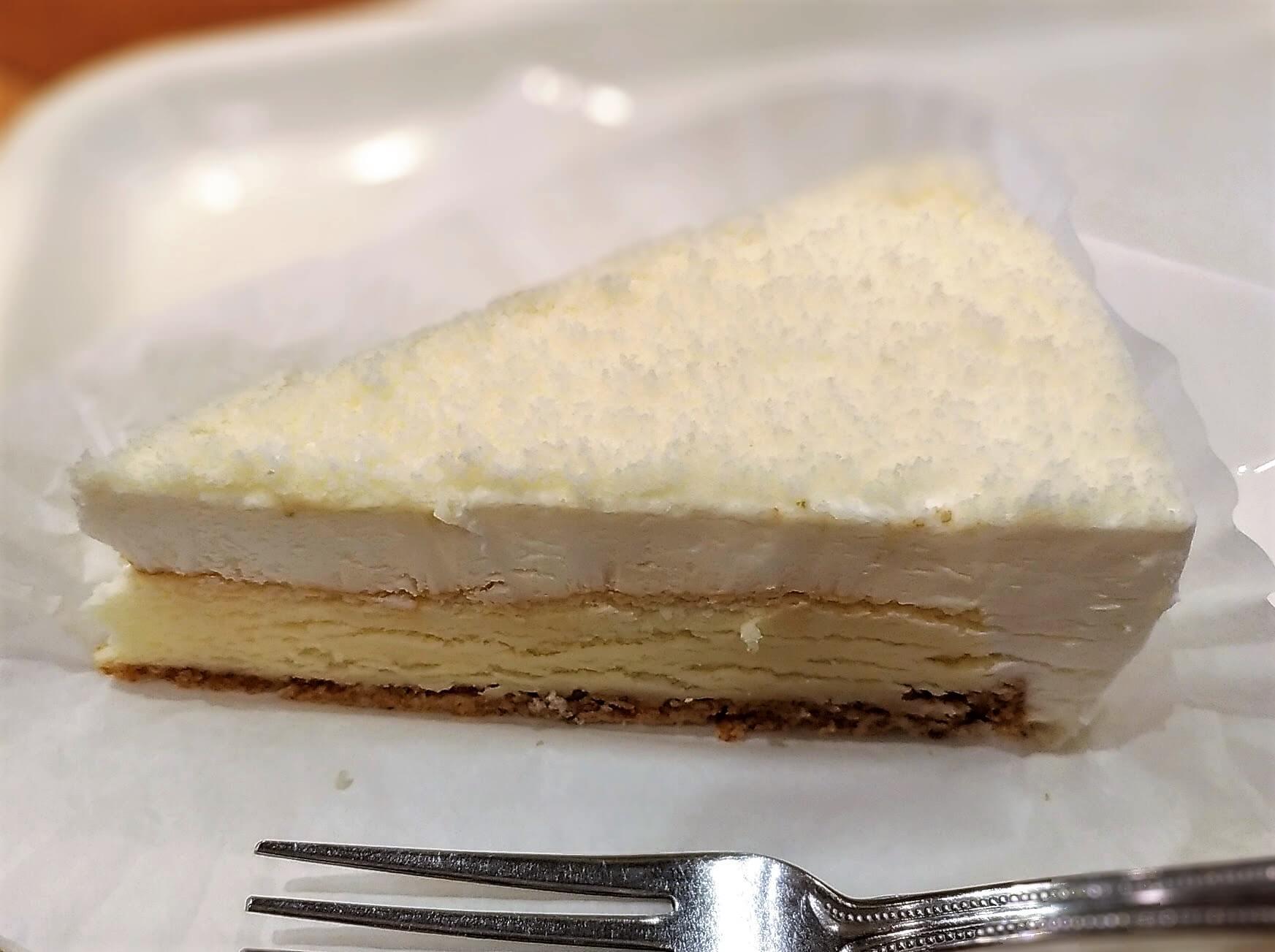 【新橋珈琲店】北海道2層のチーズケーキ (3)