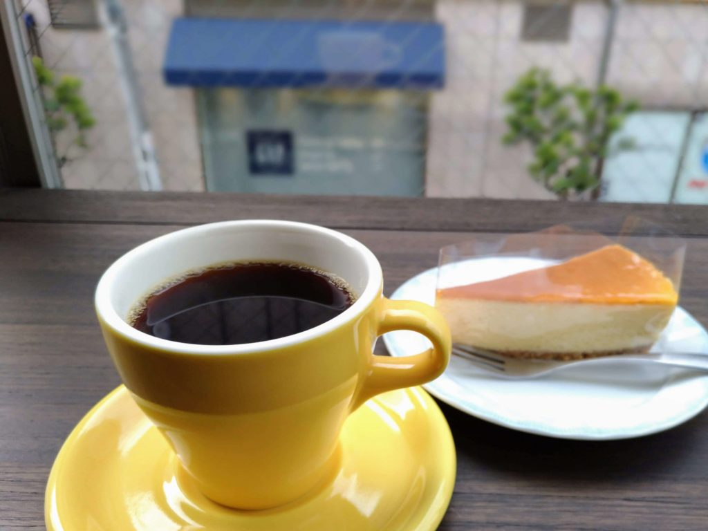 自由が丘プラス ベイクドチーズケーキ (2)