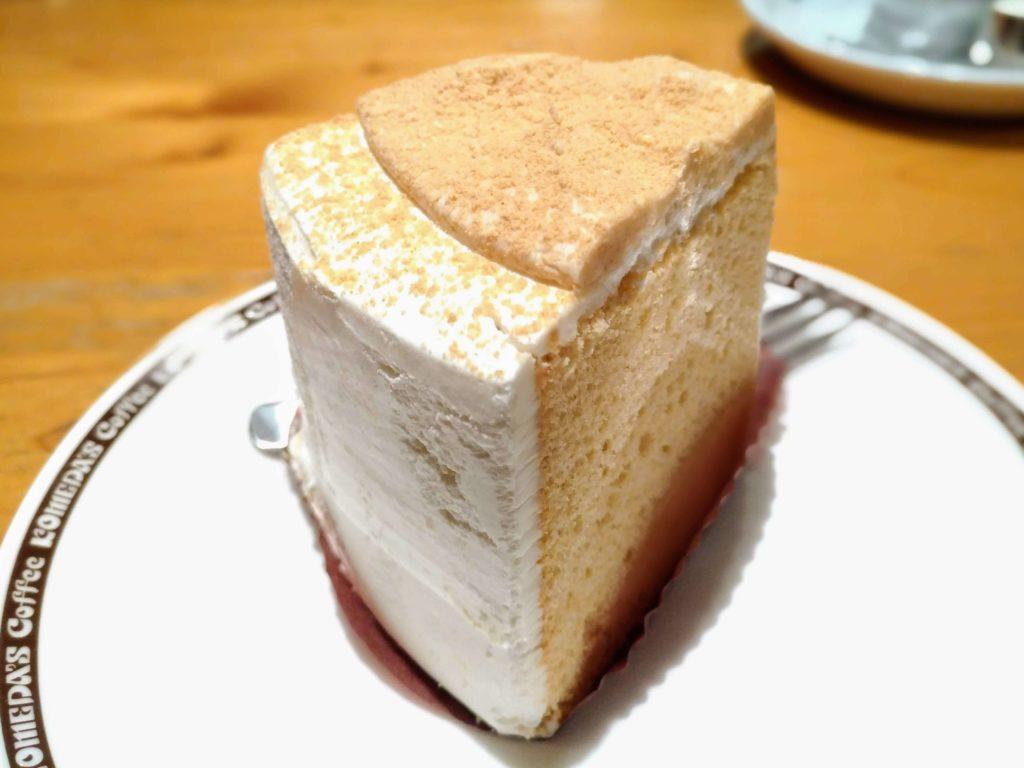 コメダ珈琲 きな粉と豆乳クリームのシフォン (4)