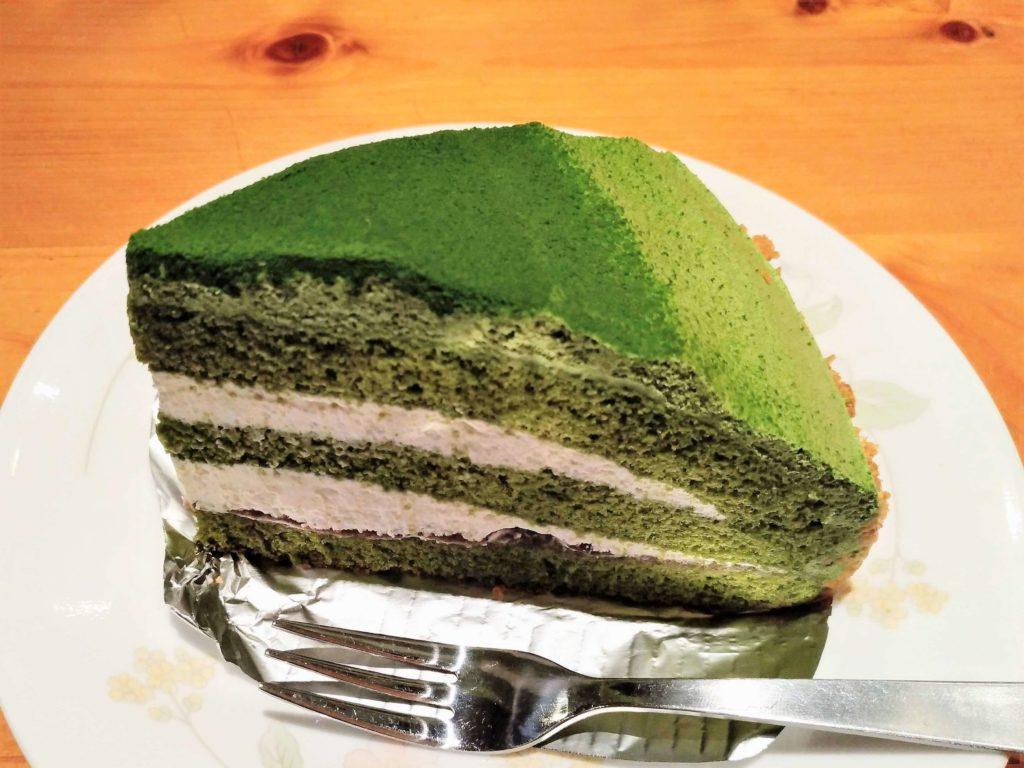 コメダ珈琲 抹茶とクリームチーズのケーキ (3)