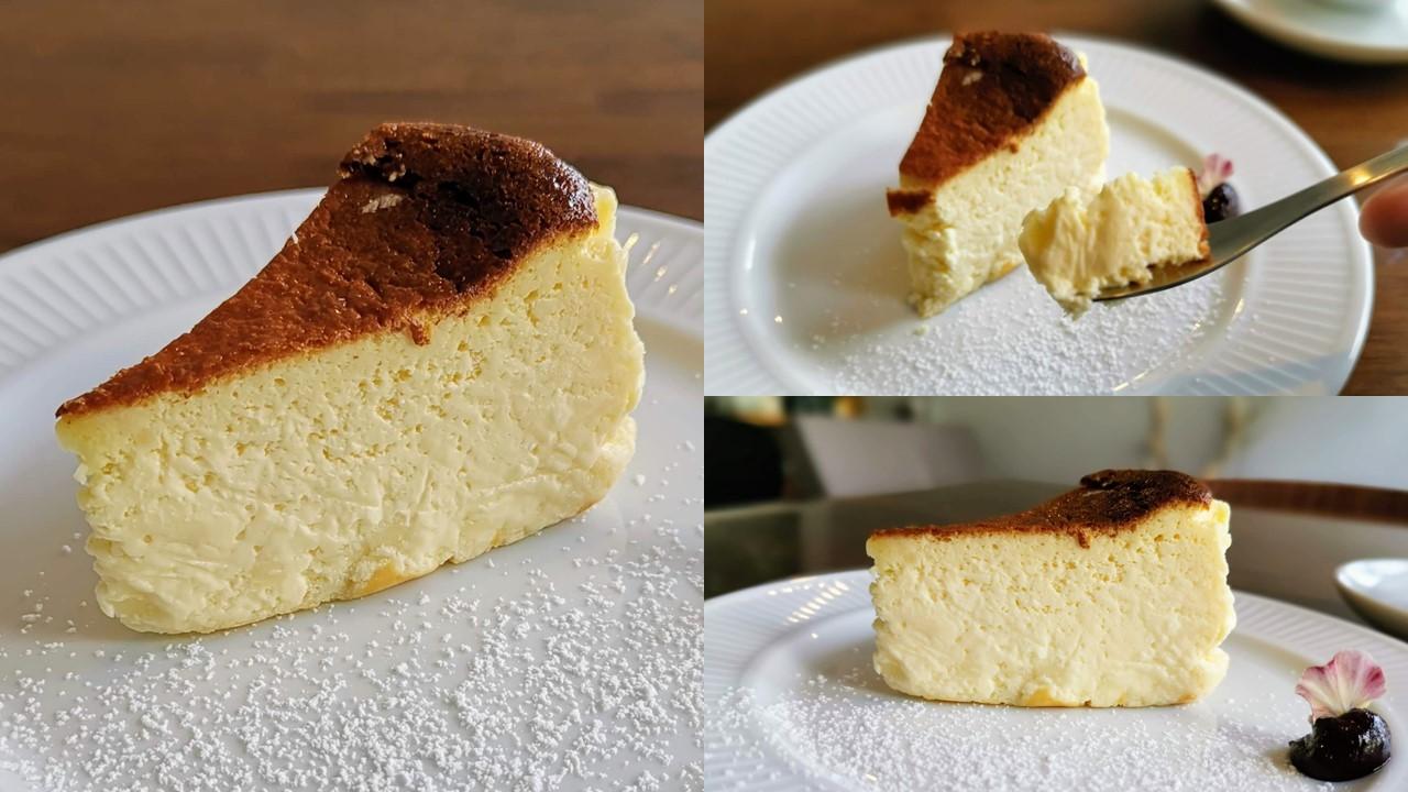 カフェ 海猫山猫  バスクチーズケーキ