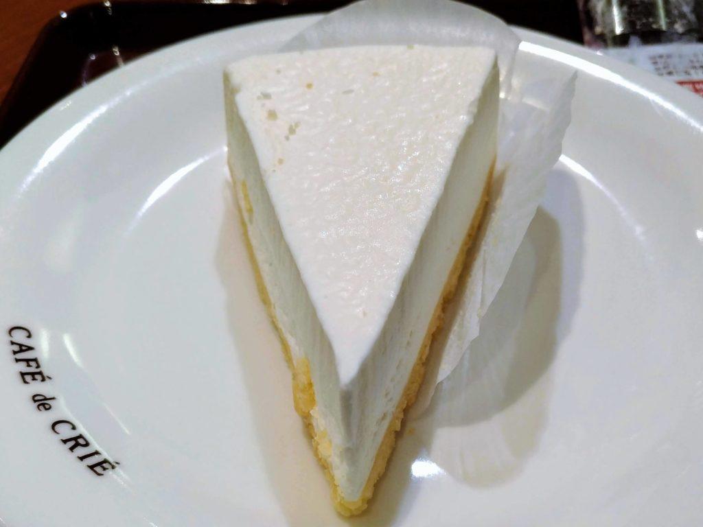カフェ・ド・クリエ 北海道クリームチーズケーキ 画像 (9)