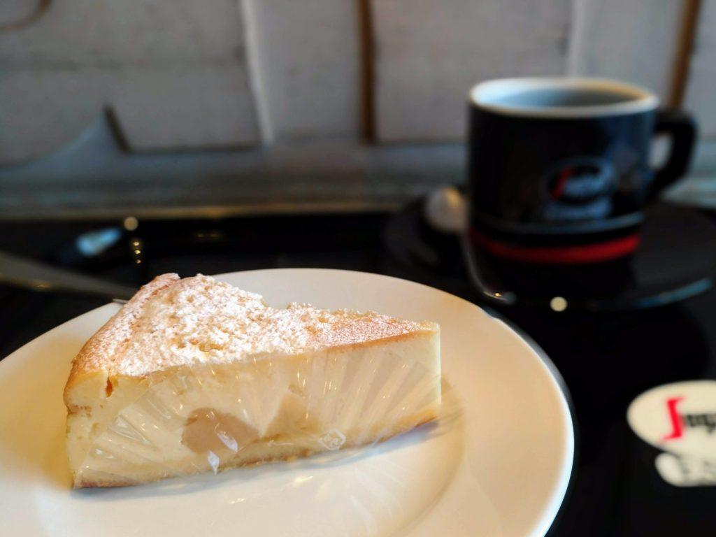 セガフレード・ザネッティ・エスプレッソ (4)リコッタチーズケーキ
