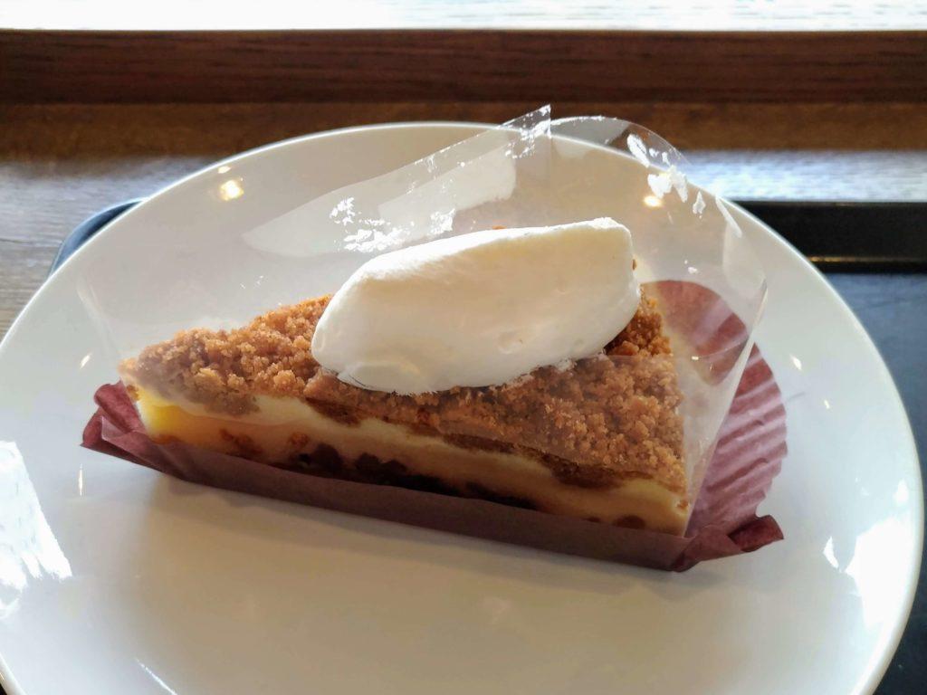 スターバックス ナッツ&キャラメルチーズケーキ (11)