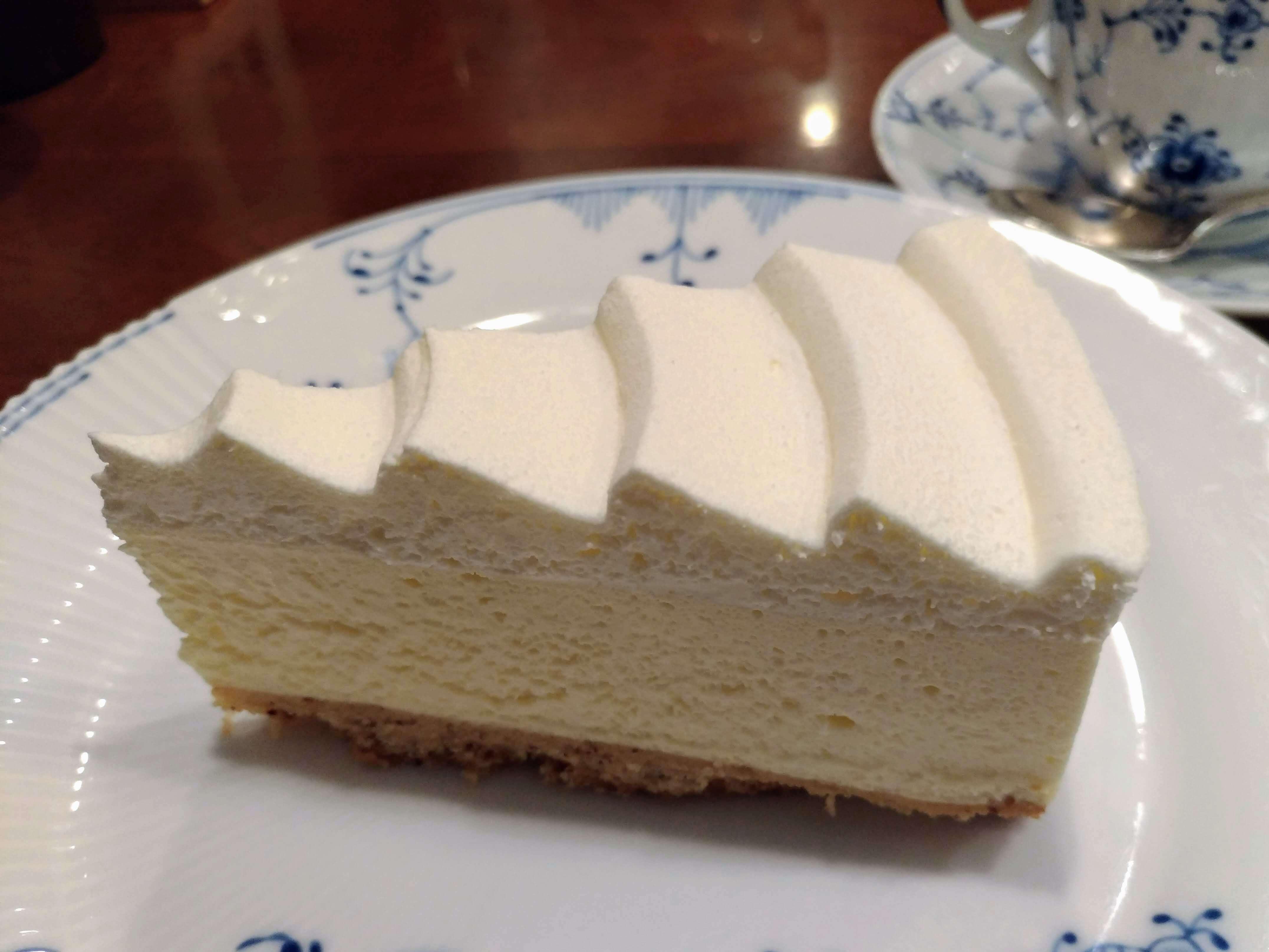 椿屋カフェ プレミアムレアチーズケーキ (3)