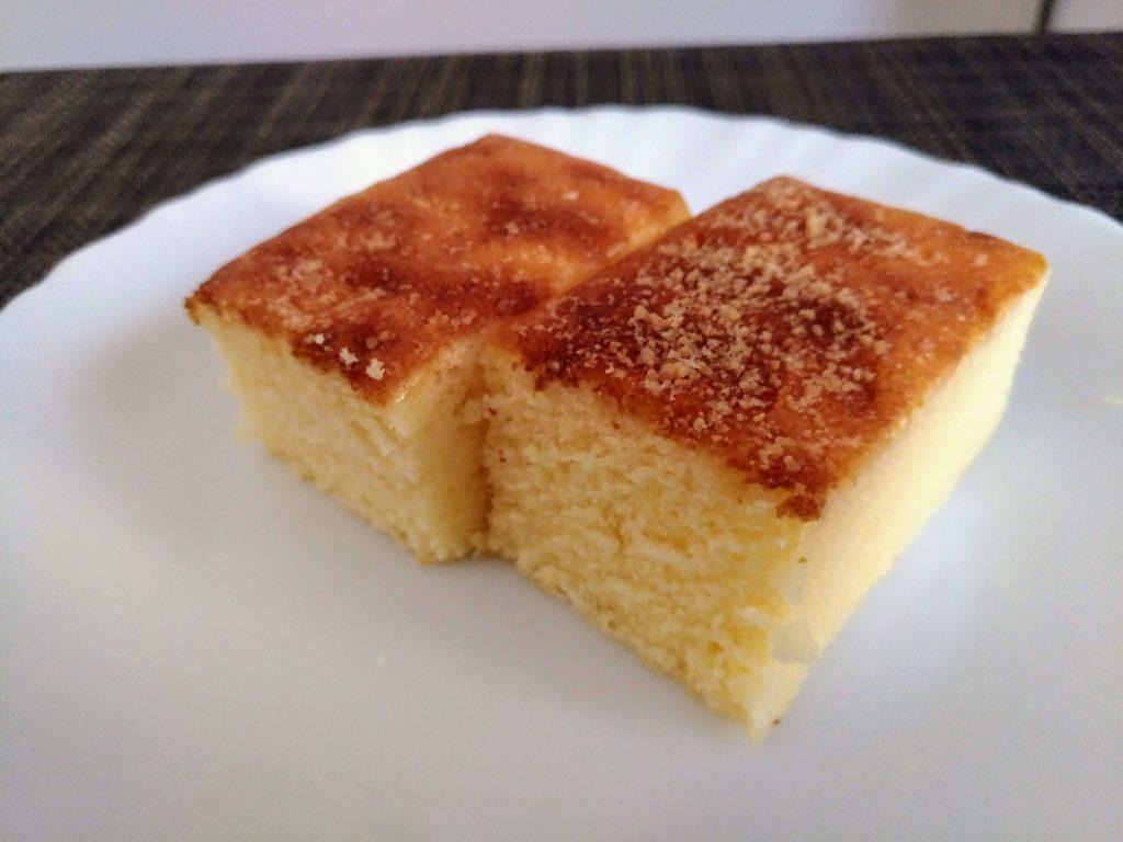 無印良品 不揃いチーズケーキ (8)