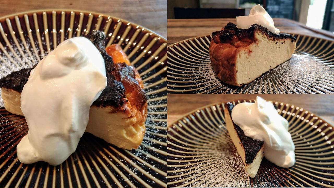 イイジカン (1)バスクチーズケーキ
