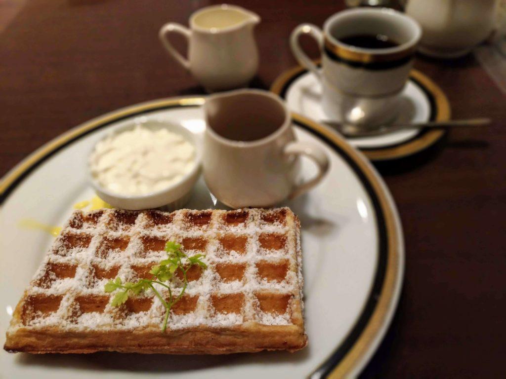 丸善カフェ M&C CAFE ワッフル (1)