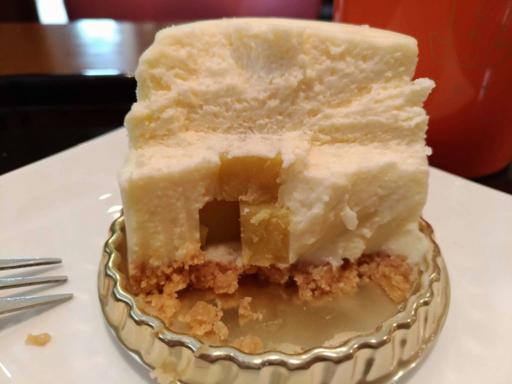 ふなわかふぇ お芋のレアチーズケーキ (1)