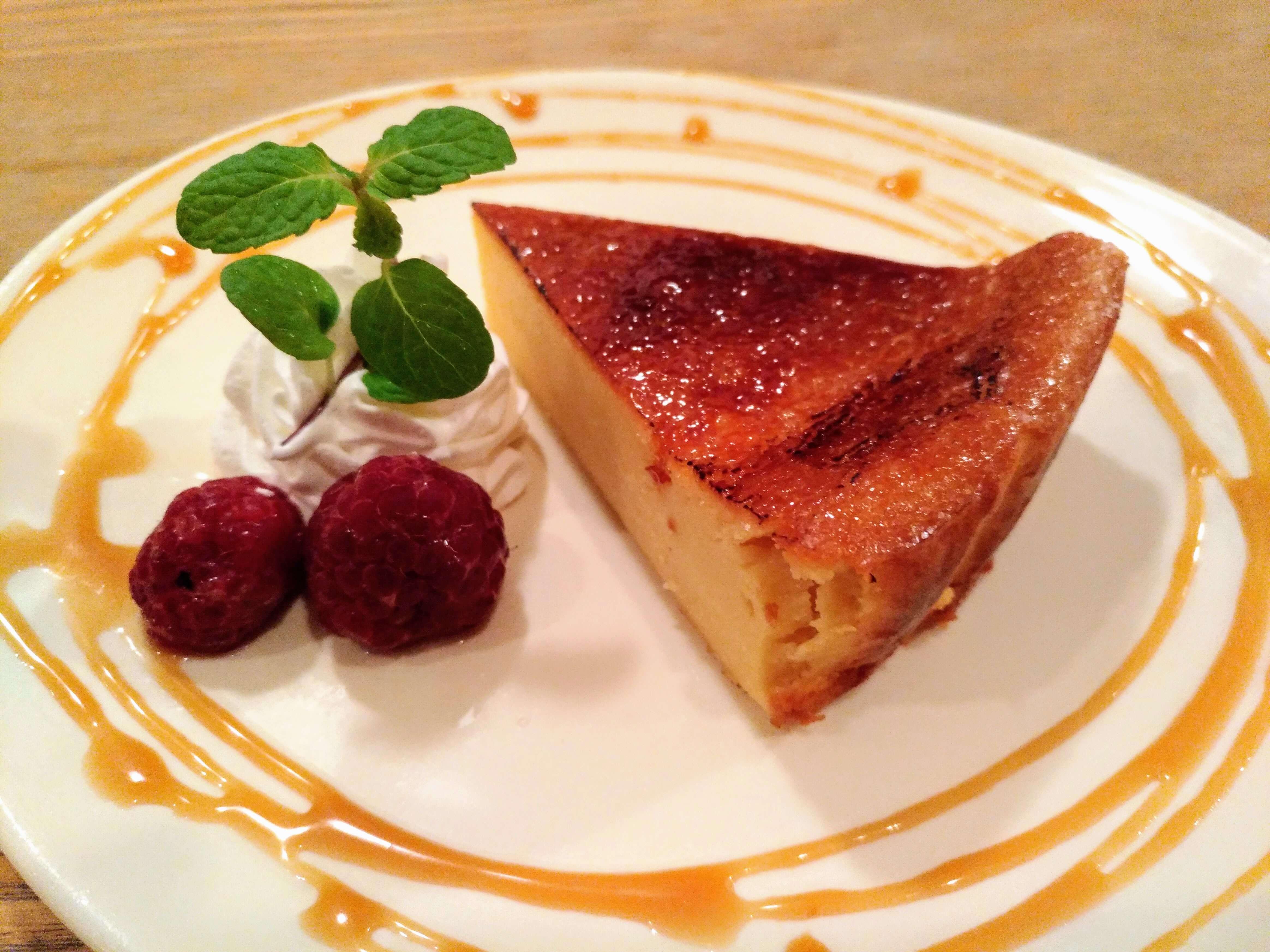 ぽたかカフェ 焦がし砂糖のチーズケーキ (13)