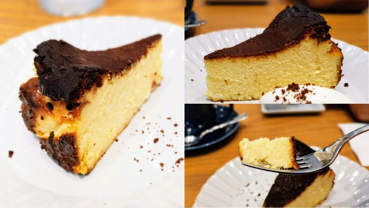 キハチカフェ 日比谷 バスクチーズケーキ