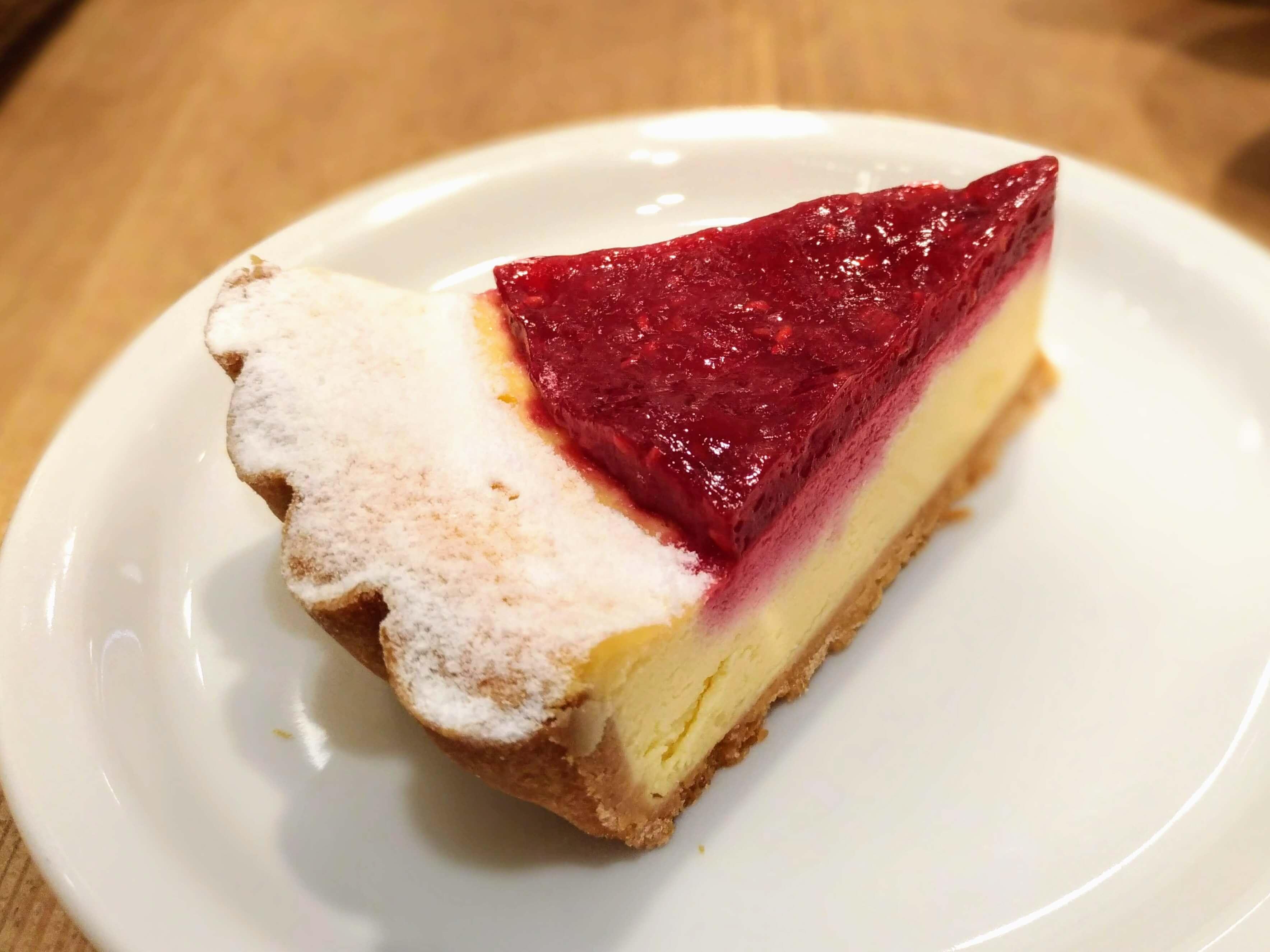 【ル・パン・コティディアン(Le Pain Quotidien)】 ニューヨークチーズケーキ