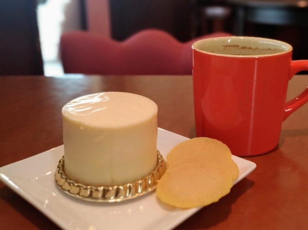 ふなわかふぇ お芋のレアチーズケーキ (9)