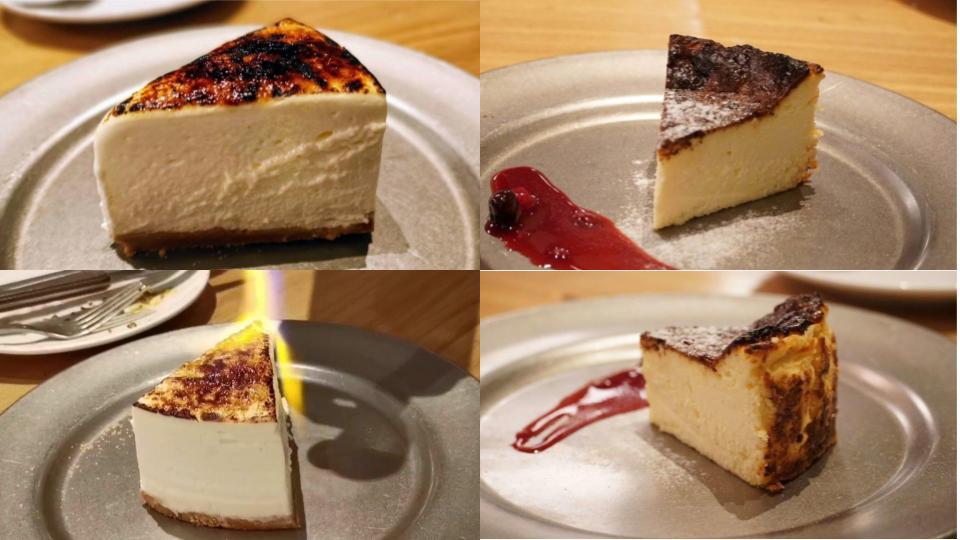 CHEESE&MEAT BANK バスクチーズケーキと炙りレアチーズケーキ