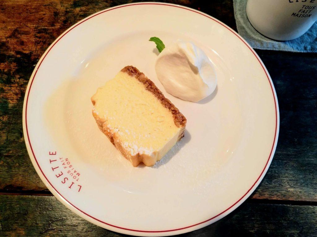 LISETTE(リゼッタ)自由が丘 (9)ミューズリチーズケーキ