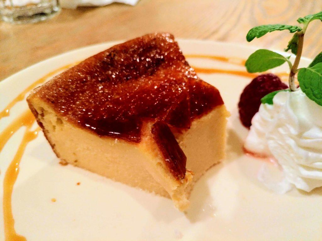 ぽたかカフェ 焦がし砂糖のチーズケーキ (9)